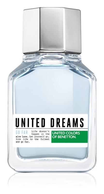 Benetton United Dream Go Far Eau de Toilette voor Mannen 100 ml