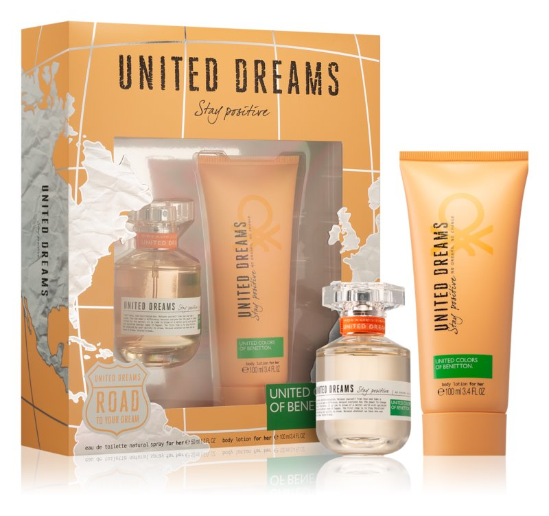 Benetton United Dream Stay Positive darilni set III.