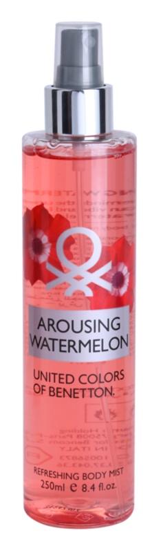 Benetton Arousing Watermelon telový sprej pre ženy 250 ml