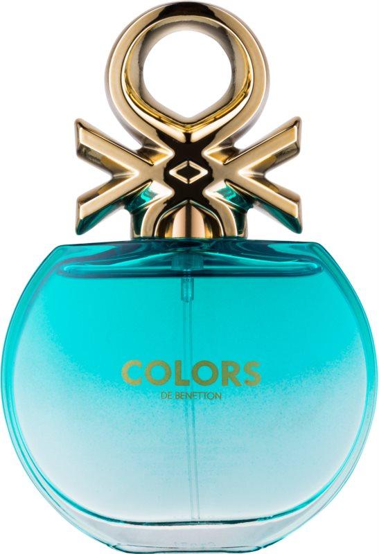 Benetton Colors de Benetton Blue toaletní voda pro ženy 80 ml