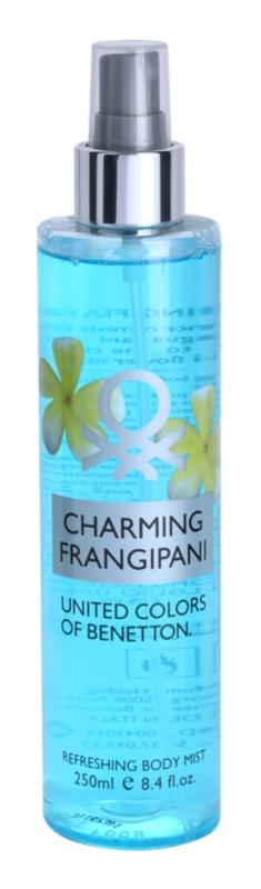 Benetton Charming Frangipani testápoló spray nőknek 250 ml