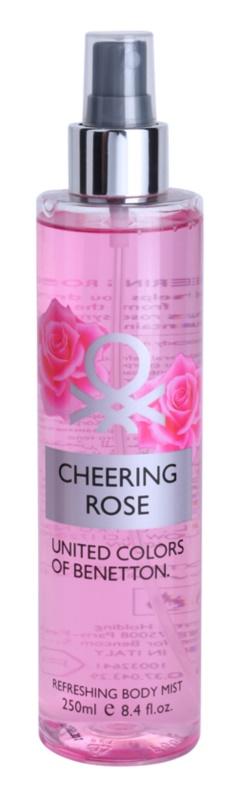 Benetton Cheering Rose Bodyspray  voor Vrouwen  250 ml