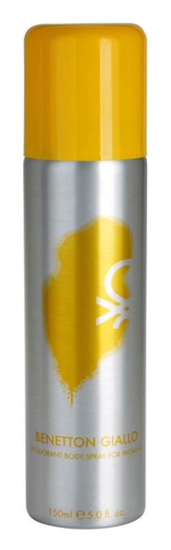 Benetton Giallo Deo Spray voor Vrouwen  150 ml