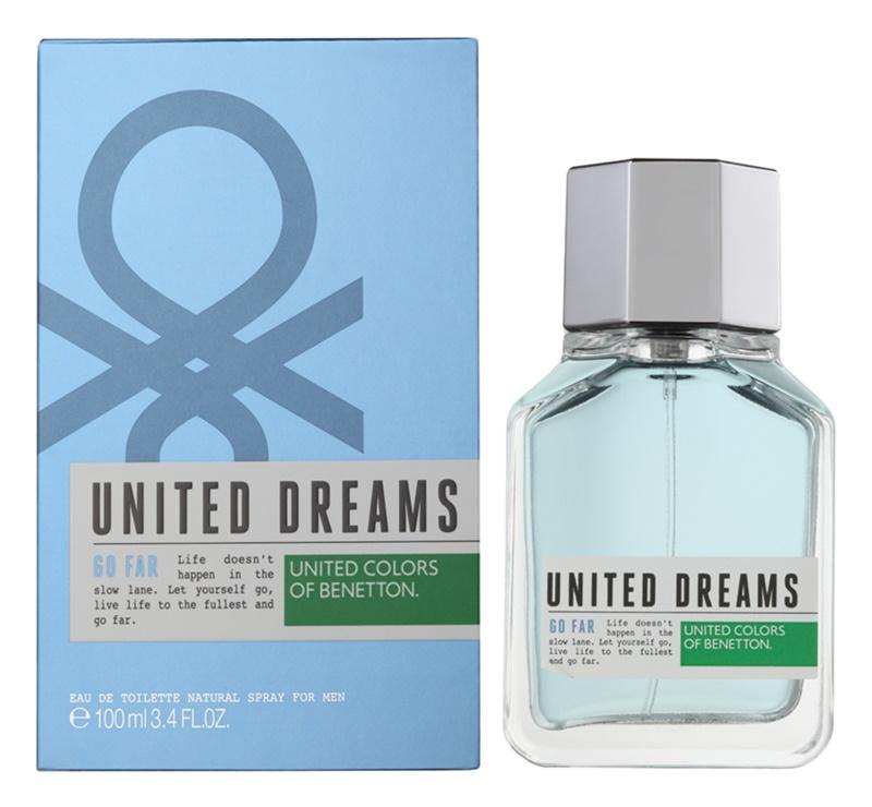 Benetton United Dream Go Far woda toaletowa dla mężczyzn 100 ml