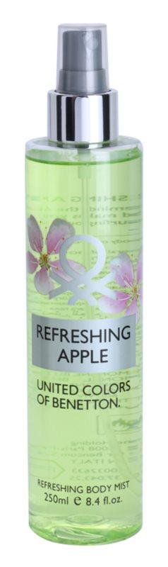 Benetton Refreshing Apple tělový sprej pro ženy 250 ml