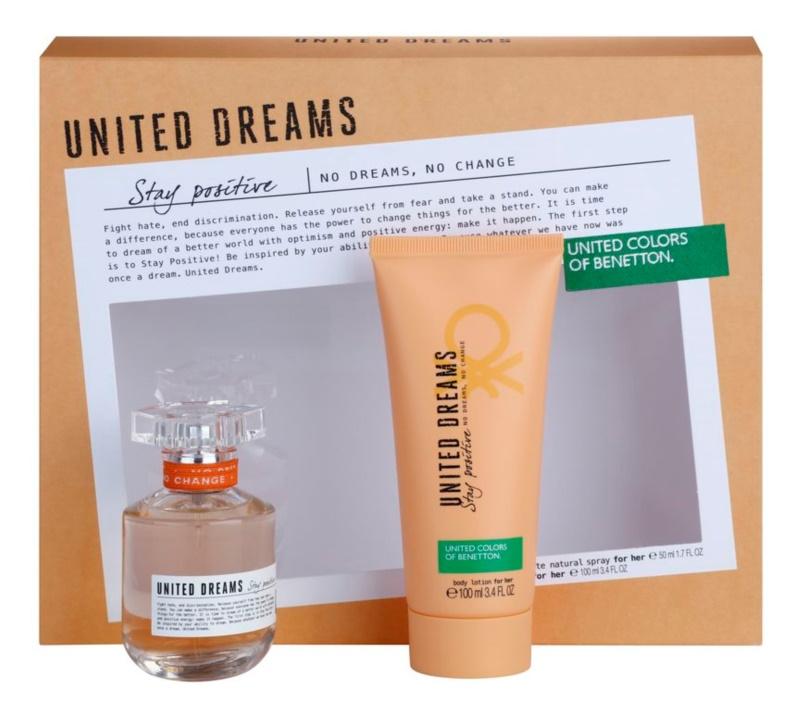 Benetton United Dream Stay Positive coffret cadeau II.