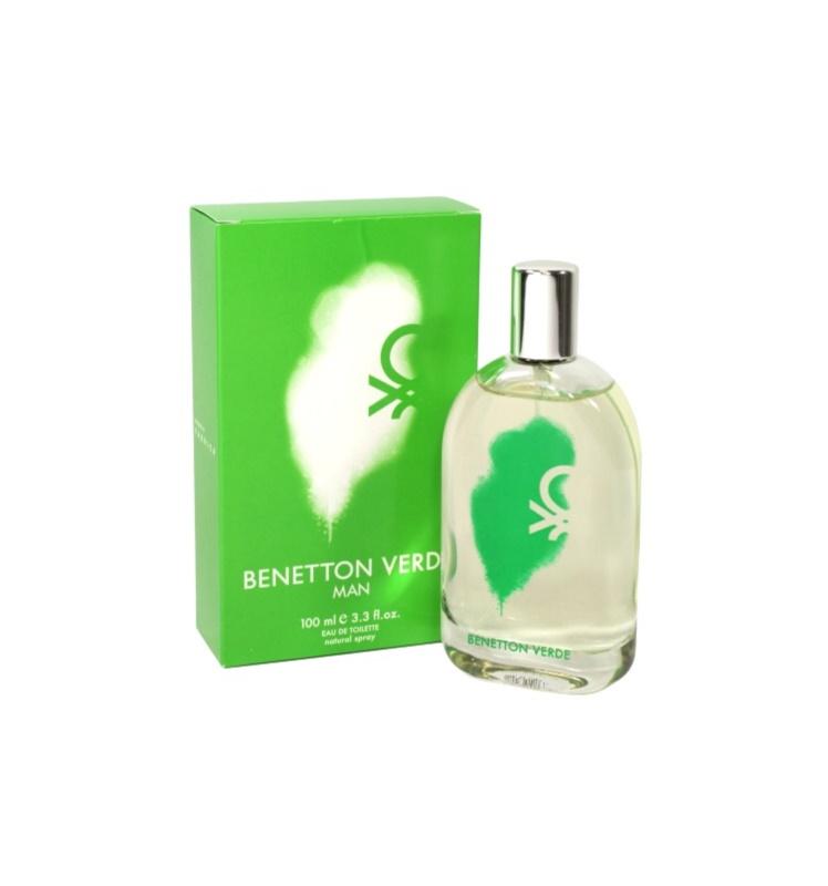 Benetton Verde toaletní voda pro muže 100 ml
