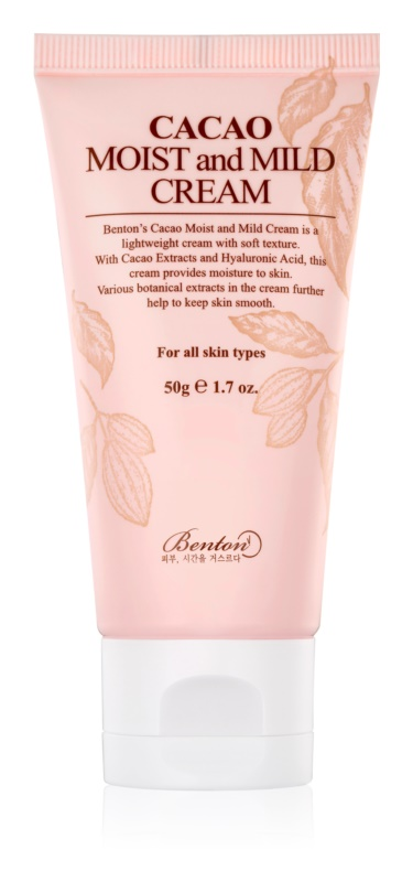 Benton Cacao Moist and Mild Light Moisturizing Cream