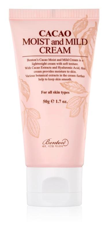 Benton Cacao Moist and Mild Light Moisturizing Cream