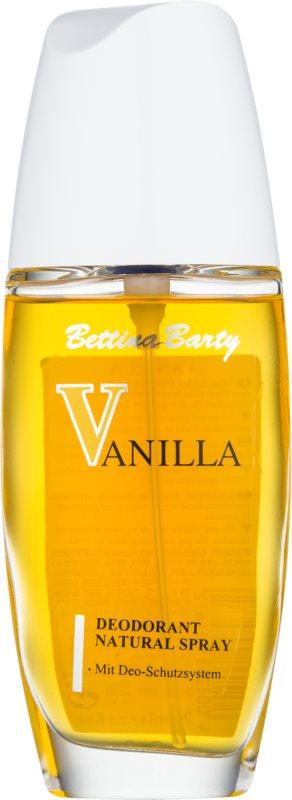 Bettina Barty Classic Vanilla déodorant avec vaporisateur pour femme 75 ml