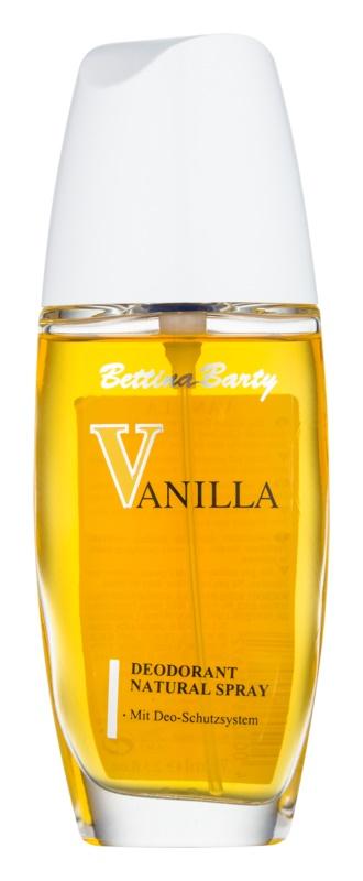 Bettina Barty Classic Vanilla deodorant s rozprašovačem pro ženy 75 ml
