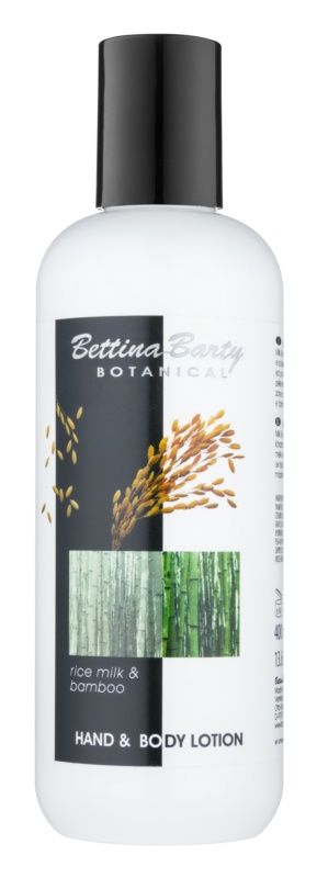 Bettina Barty Botanical Rice Milk & Bamboo lait mains et corps pour un effet naturel