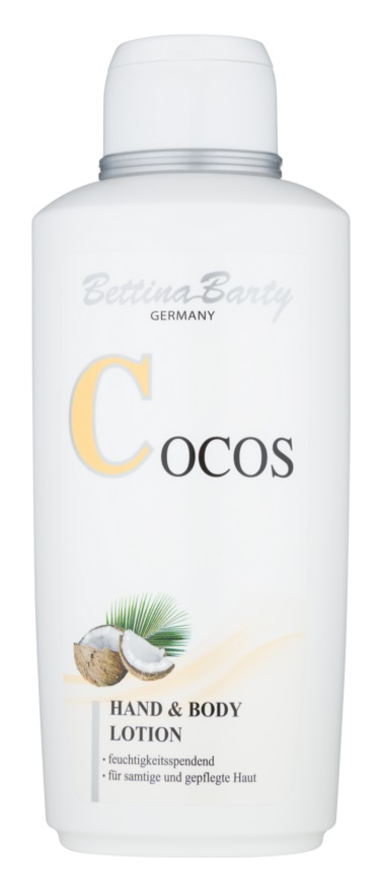 Bettina Barty Coconut loción para manos y cuerpo