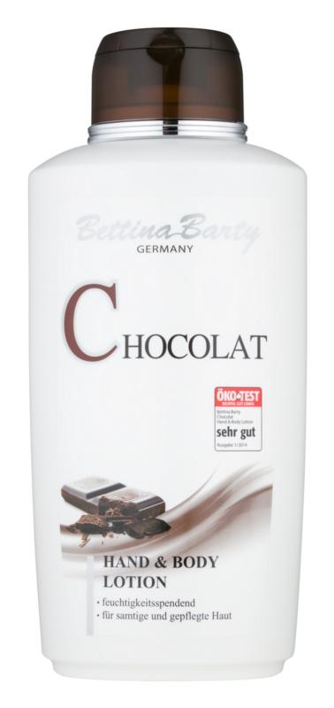 Bettina Barty Chocolate mleczko do rąk i ciała o dzłałaniu nawilżającym