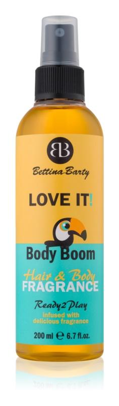 Bettina Barty Love It! telový sprej s vôňou exotického ovocia