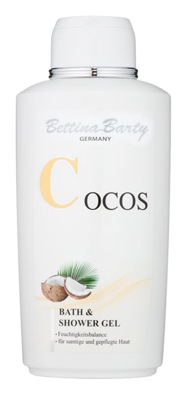 Bettina Barty Coconut Shower And Bath Gel