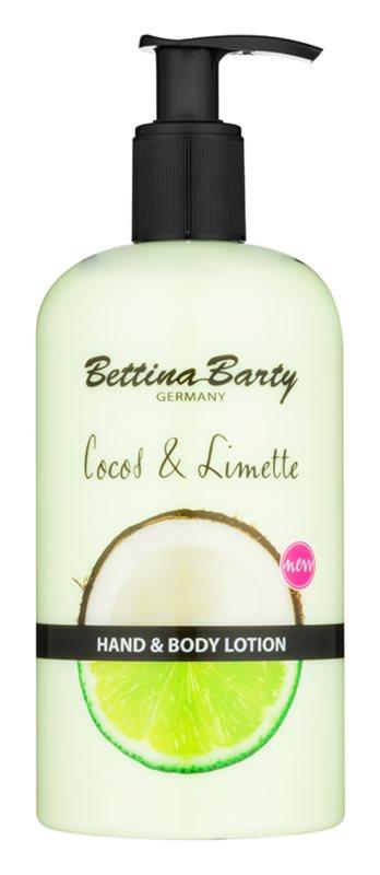 Bettina Barty Coconut & Lime leche para manos y cuerpo