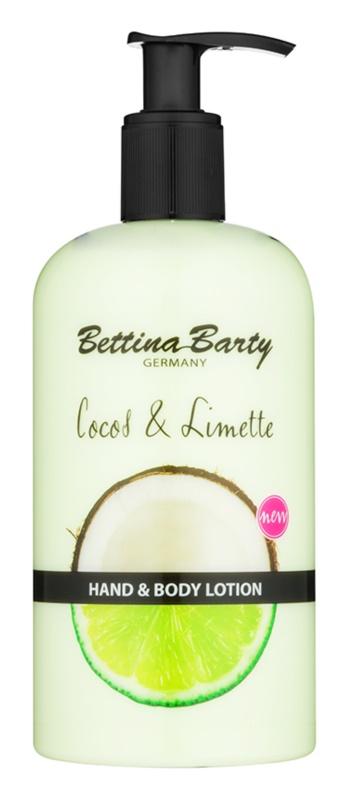 Bettina Barty Coconut & Lime leite para mãos e corpo