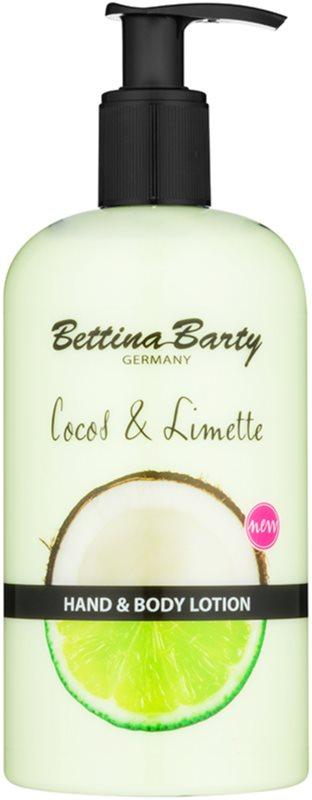 Bettina Barty Coconut & Lime mlieko na ruky a telo