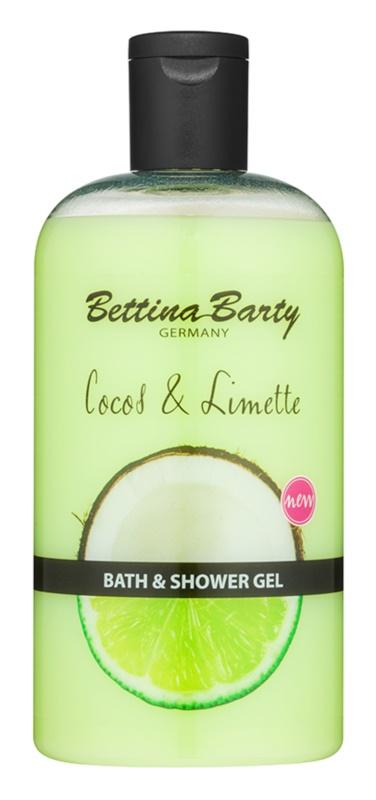 Bettina Barty Coconut & Lime sprchový a koupelový gel