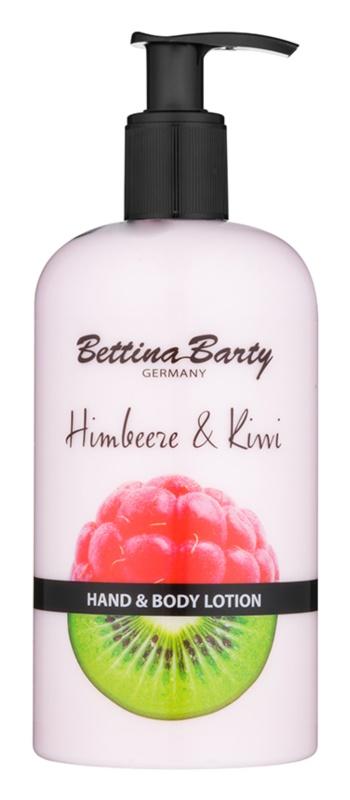 Bettina Barty Raspberry & Kiwi mléko na ruce a tělo