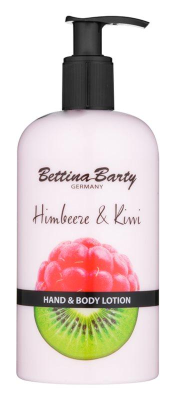 Bettina Barty Raspberry & Kiwi tej a kezekre és a testre