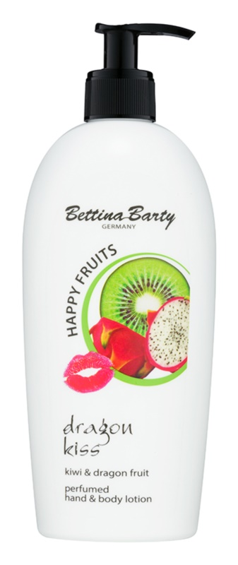 Bettina Barty Happy Fruits Kiwi & Dragon Fruit leite para mãos e corpo