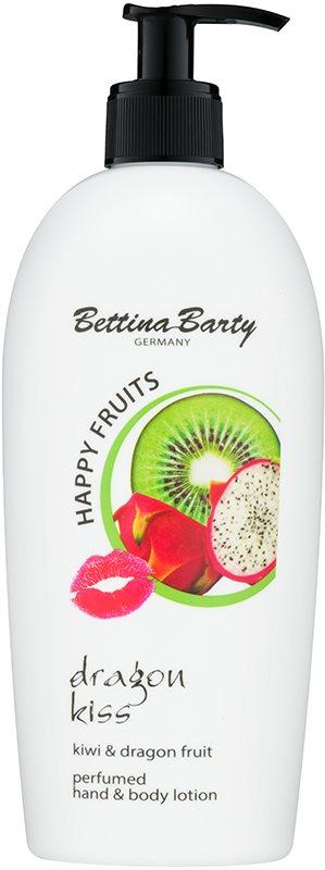 Bettina Barty Happy Fruits Kiwi & Dragon Fruit mleczko do rąk i ciała
