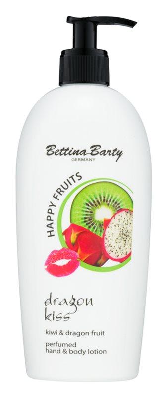 Bettina Barty Happy Fruits Kiwi & Dragon Fruit mléko na ruce a tělo