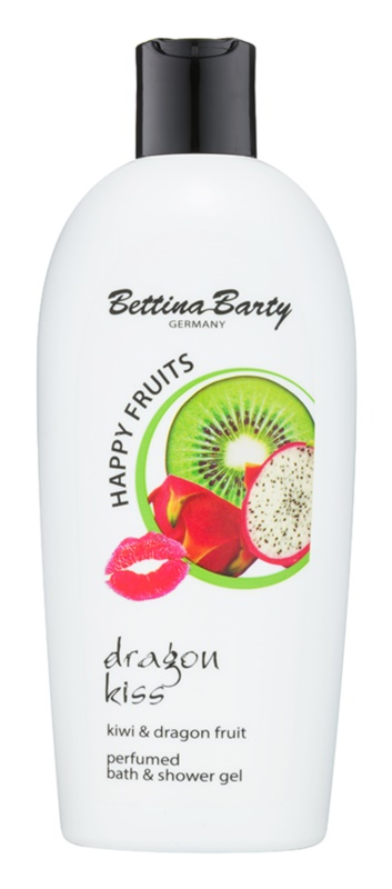Bettina Barty Happy Fruits Kiwi & Dragon Fruit sprchový a koupelový gel