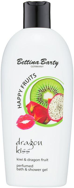 Bettina Barty Happy Fruits Kiwi & Dragon Fruit sprchový a koupelový gel