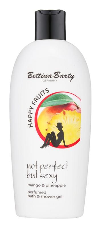Bettina Barty Happy Fruits Mango & Pineapple sprchový a kúpeľový gél