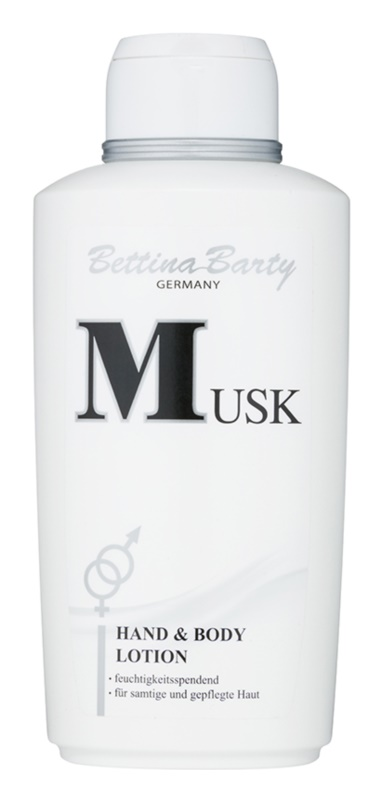 Bettina Barty Classic Musk lotion corps pour femme 500 ml