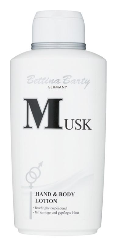 Bettina Barty Classic Musk tělové mléko pro ženy 500 ml