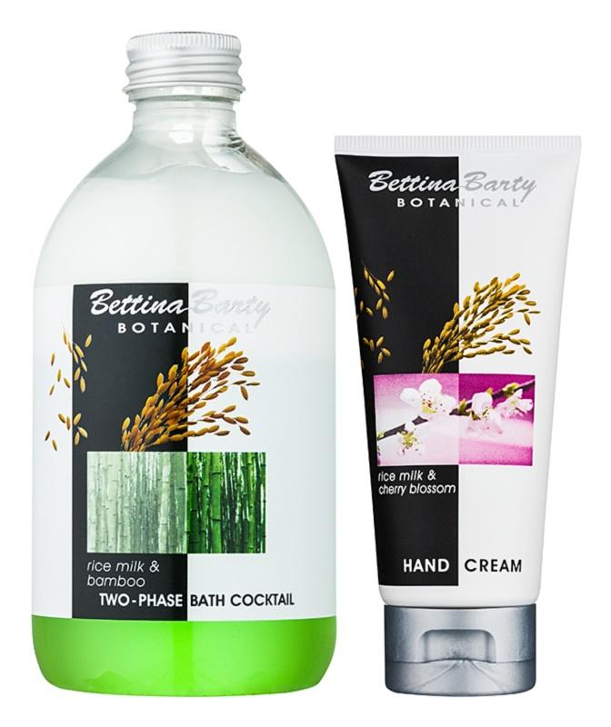 Bettina Barty Botanical Rice Milk & Bamboo Cosmetic Set I.