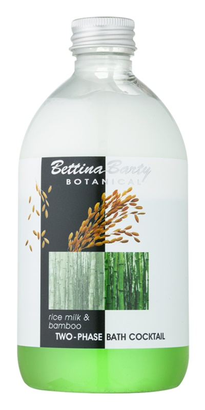 Bettina Barty Botanical Rice Milk & Bamboo espuma bifásica de baño