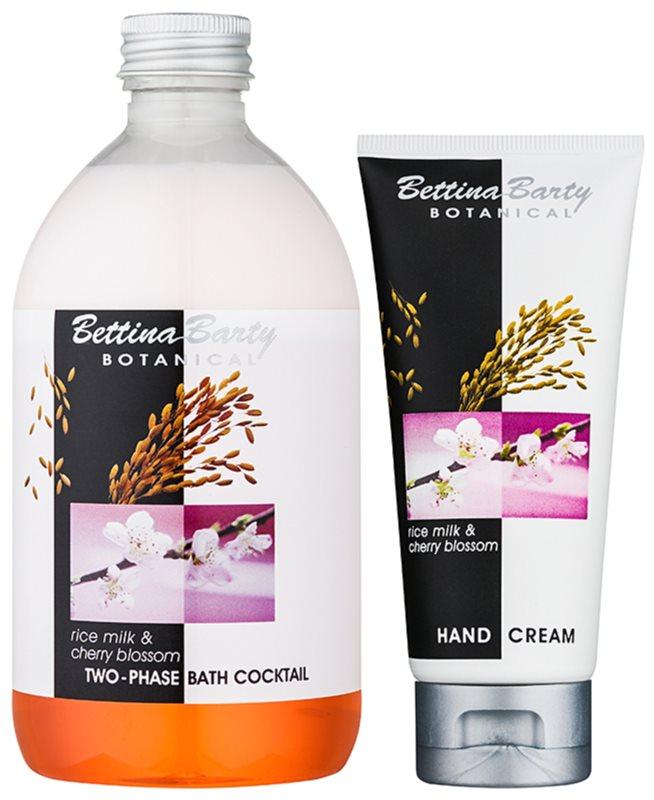 Bettina Barty Botanical Rise Milk & Cherry Blossom coffret cosmétique I.