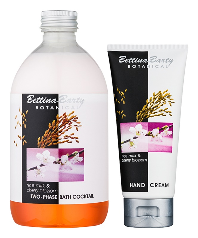 Bettina Barty Botanical Rise Milk & Cherry Blossom lote cosmético I.