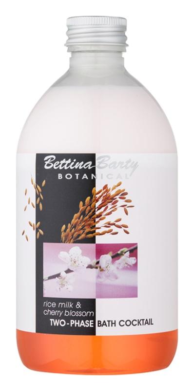 Bettina Barty Botanical Rise Milk & Cherry Blossom mousse bi-phasée pour le bain