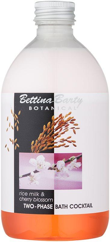 Bettina Barty Botanical Rise Milk & Cherry Blossom Spumă cu două faze pentru baie