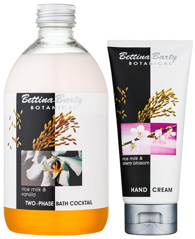 Bettina Barty Botanical Rise Milk & Vanilla lote cosmético I.