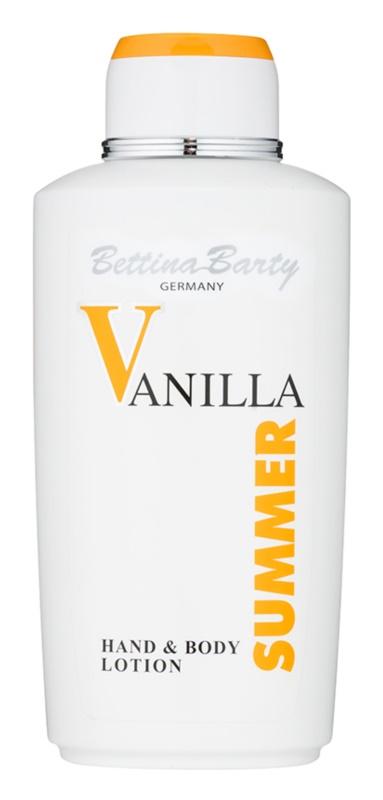Bettina Barty Classic Summer Vanilla telové mlieko pre ženy 500 ml