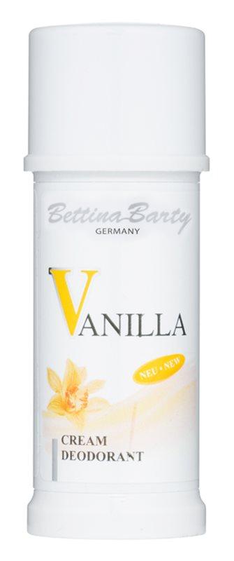 Bettina Barty Classic Vanilla desodorante en barra para mujer 40 ml
