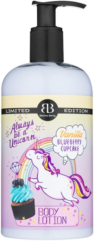 Bettina Barty Vanilla Blueberry Cupcake tělové mléko