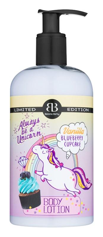 Bettina Barty Vanilla Blueberry Cupcake telové mlieko