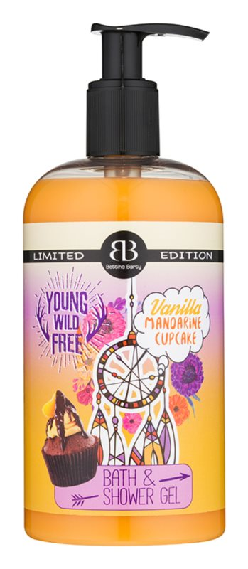 Bettina Barty Vanilla Mandarine Cupcake Shower And Bath Gel