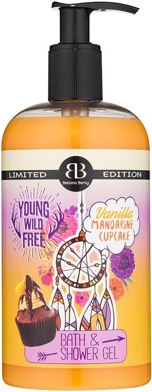 Bettina Barty Vanilla Mandarine Cupcake sprchový a koupelový gel
