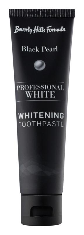 Beverly Hills Formula Professional White Range bleichende Zahnpasta mit Fluor