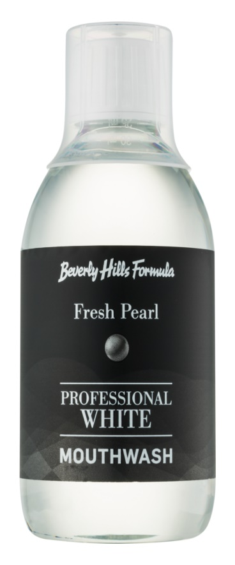 Beverly Hills Formula Professional White Range Mundwasser mit bleichender Wirkung zur Erneuerung des Zahnschmelzes