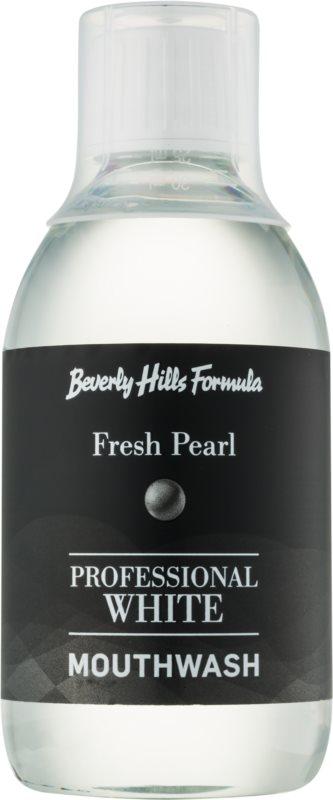 Beverly Hills Formula Professional White Range ústna voda s bieliacim účinkom na obnovenie zubnej skloviny